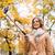 gelukkig · jonge · vrouw · smartphone · technologie · zomer - stockfoto © dolgachov