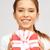 happy teenage girl with gift box stock photo © dolgachov