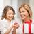 Mutter · Tochter · Bild · Cupcake · Haus · Mädchen - stock foto © dolgachov