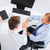 dos · hombres · de · negocios · apretón · de · manos · oficina · reunión · negocios - foto stock © dolgachov