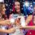 trzy · uśmiechnięty · kobiet · koktajle · disco · ball · nowy · rok - zdjęcia stock © dolgachov