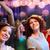 mosolyog · barátok · tánc · klub · buli · ünnepek - stock fotó © dolgachov