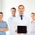 doktor · tablet · randevu · yalıtılmış · beyaz - stok fotoğraf © dolgachov