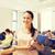 grupy · uśmiechnięty · studentów · wykład · sali · edukacji - zdjęcia stock © dolgachov