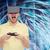 człowiek · faktyczny · rzeczywistość · zestawu · technologii - zdjęcia stock © dolgachov