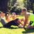 grup · insanlar · egzersiz · park · ağaç · adam - stok fotoğraf © dolgachov