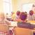leraar · vergadering · bureau · jonge · studenten · elementair - stockfoto © dolgachov