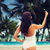 jonge · vrouw · smartphone · reizen · zomer · technologie - stockfoto © dolgachov
