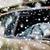 quebrado · pára-brisas · carro · velho · carro · segurança · automático - foto stock © dolgachov