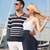 gelukkig · haven · foto · vrouw · zomer - stockfoto © dolgachov