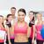 Фитнес-женщины · Личный · тренер · спорт · клуба · работу - Сток-фото © dolgachov