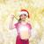 menina · seis · caixa · de · presente · natal - foto stock © dolgachov