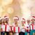 mutlu · çocuklar · hediyeler · Noel · alışveriş · sepeti · alışveriş - stok fotoğraf © dolgachov
