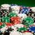 fichas · de · casino · verde · mesa · superficie · juego - foto stock © dolgachov