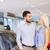 boldog · pár · vásárol · autó · autó · előadás - stock fotó © dolgachov