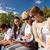 группа · подростков · подвесной · из · вместе · за · пределами - Сток-фото © dolgachov