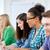 csoport · boldog · középiskola · diákok · osztálytársak · oktatás - stock fotó © dolgachov