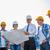 bouwers · blauwdruk · bouwplaats · bouwvakker · ingenieur · plaats - stockfoto © dolgachov