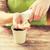 közelkép · nő · kezek · vetés · magok · emberek - stock fotó © dolgachov
