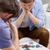młodych · ludzi · gry · poker · turniej · znajomych · strony - zdjęcia stock © dolgachov
