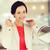 gelukkig · vrouw · kiezen · sieraden · store · verkoop - stockfoto © dolgachov