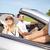 счастливым · человека · женщину · вождения · кабриолет · автомобилей - Сток-фото © dolgachov