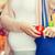妊婦 · 袋 · 食品 · 通り · 市場 · 販売 - ストックフォト © dolgachov