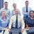 gens · d'affaires · travail · ordinateurs · bureau · ordinateur - photo stock © dolgachov