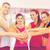groep · mensen · gymnasium · vieren · overwinning · fitness · sport - stockfoto © dolgachov