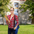 kadın · öğrenci · gözlük · çanta · klasörler · eğitim - stok fotoğraf © dolgachov