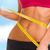 腹 · 巻き尺 · スポーツ · ダイエット · 女性 - ストックフォト © dolgachov
