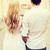 пару · путешествия · улыбаясь · счастливым - Сток-фото © dolgachov