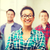 csoport · diákok · iskola · oktatás · nő · boldog - stock fotó © dolgachov