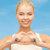 mulher · jovem · ajudar · assinar · caucasiano - foto stock © dolgachov