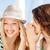 adolescentes · sonrisa · mujeres · noticias - foto stock © dolgachov
