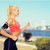 mulher · corrida · esportes - foto stock © dolgachov