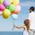 rodziny · kolorowy · balony · lata · wakacje · uroczystości - zdjęcia stock © dolgachov