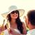 noiva · noivo · potável · champanhe · casamento · flores - foto stock © dolgachov