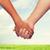 mujer · hombre · tomados · de · las · manos · amor · relaciones · primer · plano - foto stock © dolgachov