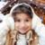szczęśliwy · dziewczynka · zimą · wakacje - zdjęcia stock © dolgachov