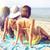 группа · девочек · пляж · лет · праздников · отпуск - Сток-фото © dolgachov