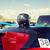 samochodu · kask · dachu · górę · transport - zdjęcia stock © dolgachov