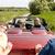 szczęśliwy · człowiek · kobieta · jazdy · kabriolet · samochodu - zdjęcia stock © dolgachov