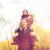 uomo · giovani · figlio · spalle · autunno · parco - foto d'archivio © dolgachov