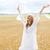 kadın · eller · yukarı · genç · kadın - stok fotoğraf © dolgachov