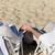 zomer · strand · familie · leeftijd - stockfoto © dolgachov