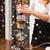 barista · água · café · terreno · filtrar - foto stock © dolgachov