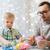 счастливым · молодые · отец · играет · мало · сын - Сток-фото © dolgachov