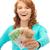 happy teenage girl with euro cash money stock photo © dolgachov