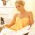 bela · mulher · estância · termal · salão · livro · quadro · mulher - foto stock © dolgachov